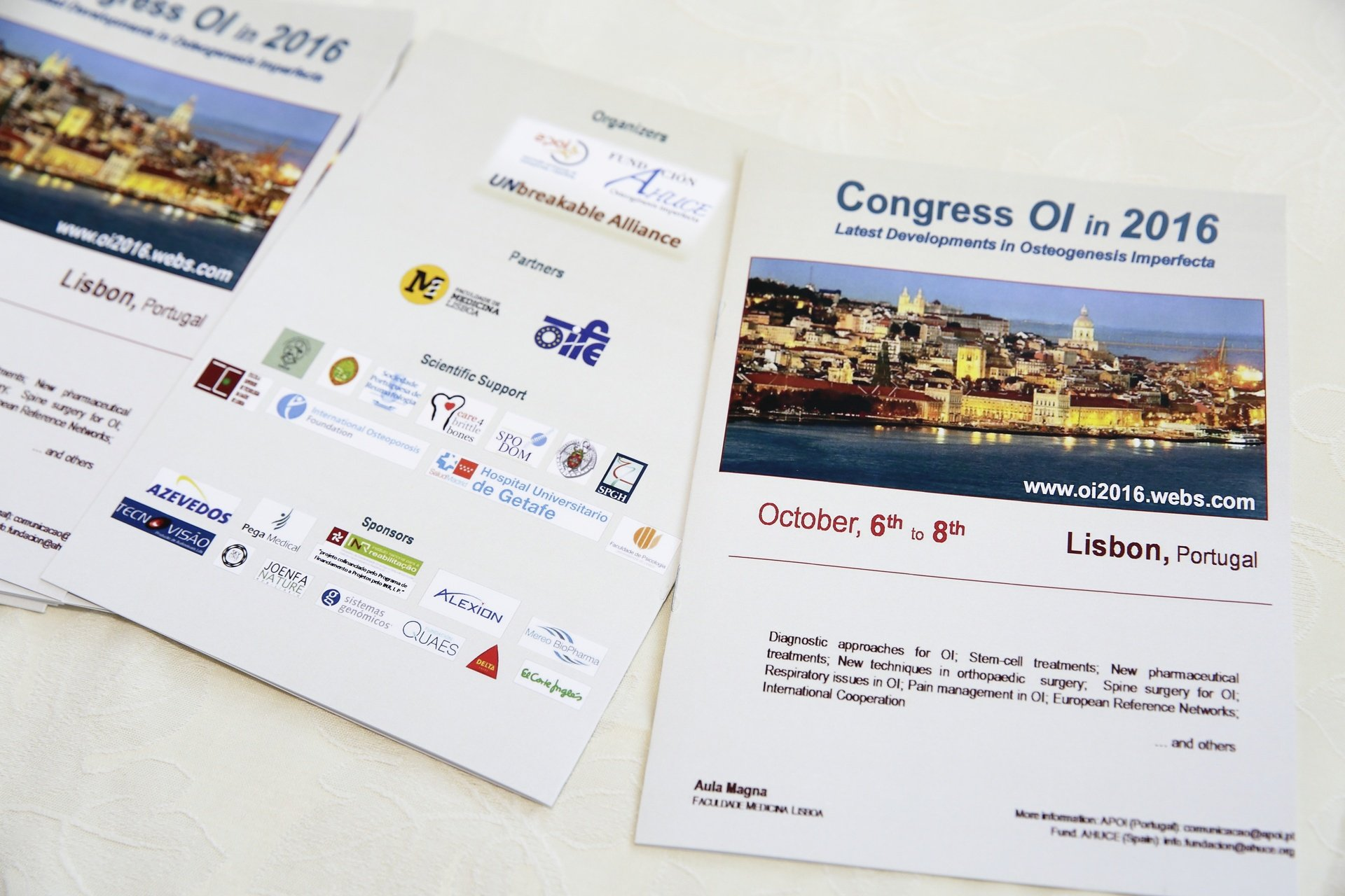 Leaflets OI in 2016