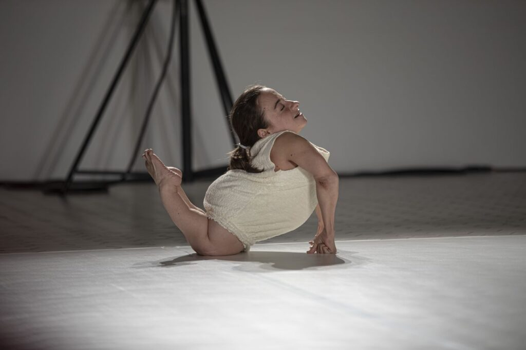Woman with disability Performing dance