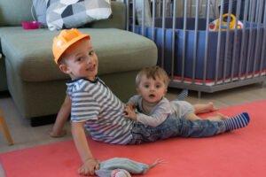 Tellef and bis older brother Edvard